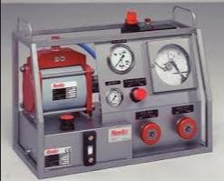 Bomba de teste hidrostático pneumática