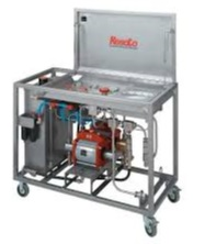 Skid mounted booster pump
