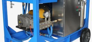 Bomba de hidrojateamento 40000 psi