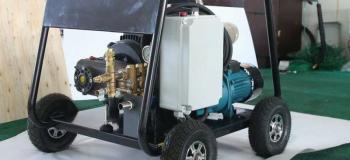 Hidrojateamento de alta pressão industrial
