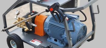 Máquina de hidrojateamento portátil